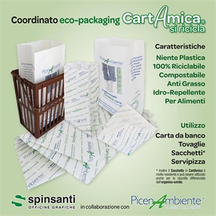 Progetto Eco- packaging CartAmica